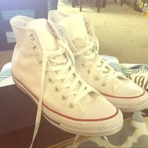 Converse, white